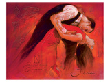 Passion of Dance Prints by  Joani
