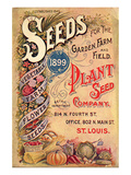Plant Seed Company St. Louis Posters