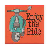 Vespa - Enjoy the Ride Prints by Shanni Welch