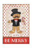 Gingerbread Man Prints by Jennifer Pugh