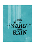 Dance in the Rain Poster by Amy Cummings
