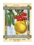 Salzer's Seeds La Crosse WI Art