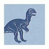 Dino 2 Poster von Linda Woods