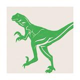 Dino 1 Kunstdrucke von Linda Woods