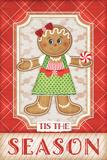 Gingerbread Girl Poster by Jennifer Pugh