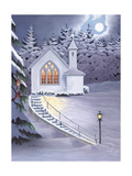 Evening Service Premium Giclee Print by Julie Peterson