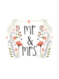 Mr and Mrs Prints by Katie Doucette