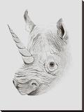 Rhinoplasty Stretched Canvas Print by Florent Bodart