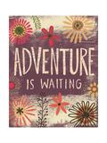 Adventure Is Waiting Art par Katie Doucette