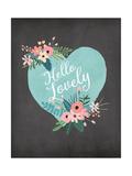 Hello Lovely Prints by Jo Moulton