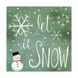 Let it Snow Prints by Katie Doucette
