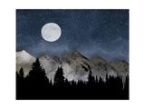 Montañas Póster por Amy Cummings