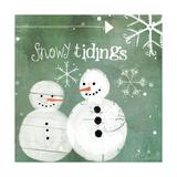 Snowy Tidings Poster par Katie Doucette
