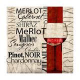 Vineyard Wineries Prints by Lisa Wolk