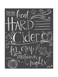 Hard Cider Print by Katie Doucette