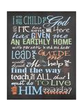Child of God - Boy Posters by Jo Moulton
