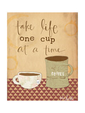 One Cup at a Time Prints by Katie Doucette