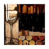 Wine with Dinner Posters by Lisa Wolk