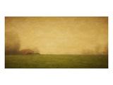 Schwartz - Red Barn in the Fog Posters by Don Schwartz