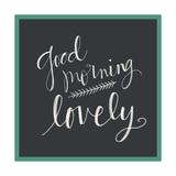 Good Morning Lovely Reproduction giclée Premium par Katie Doucette