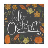 Hello October Prints by Lisa Wolk