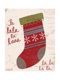 Fa La La La La Premium Giclee Print by Katie Doucette