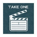 Take One Kunstdrucke von Linda Woods
