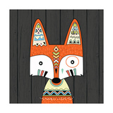 Tribal Fox Posters by Tamara Robinson