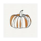 Pumpkin Print by Linda Woods