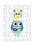 Owl 5 Posters by Tamara Robinson