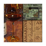 Amarone Wine Night II Prints by Lisa Wolk