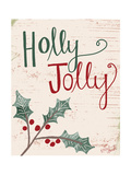 Holly Jolly Poster par Katie Doucette