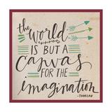 Canvas for the Imagination Reproduction giclée Premium par Katie Doucette