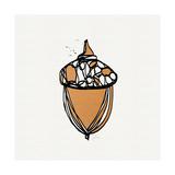 Acorn Kunstdrucke von Linda Woods