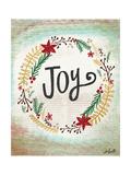 Joy Wreath Prints by Katie Doucette