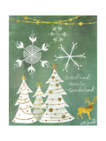 Woodland Winter Wonderland Posters by Katie Doucette