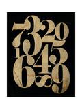 Vintage Numbers Prints by Amy Cummings