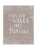 Even the Waves Posters af Amy Cummings
