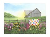 Sunshine Quilt Poster von Julie Peterson
