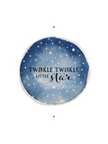 Twinkle Little Star Circle Prints by Amy Cummings