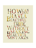 Mistake Prints by Amy Cummings