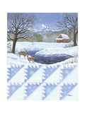 Delectable Mt. Quilt Scape Prints by Julie Peterson