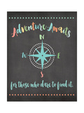 Adventure Awaits Pósters por Jo Moulton