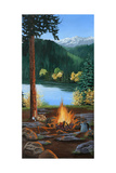 Campfire Prints by Julie Peterson