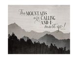 Mountians are Calling Prints by Amy Cummings