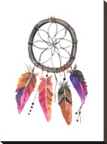 Dreamcatcher 2 Stretched Canvas Print by  Jetty Printables