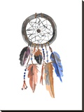 Dreamcatcher 1 Stretched Canvas Print by  Jetty Printables