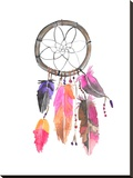 Dreamcatcher 3 Stretched Canvas Print by  Jetty Printables