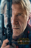 Star Wars Force Awakens- Han Solo Portrait Pôsters