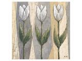 Spring Feeling in White Giclee-tryk i høj kvalitet af Karsten Kirchner